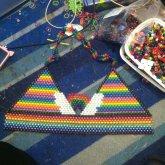 My Rainbow Bikini WIP