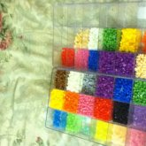 Finished Sorting My Perler Beads