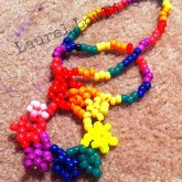 Rainbow Sun Necklace