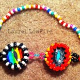 Rainbow And BlacknWhite Monster Goggles