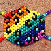Rainbow Leopard Print Mask
