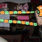 Halloween Nyan Cat Necklace