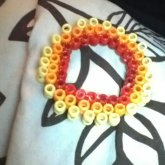 Not Finished Raindow Ladder Cuff