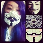 Guy Fawkes Surgical Mask 02