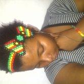Rasta Hair Bow