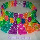 Gummy Bear Kandi Visor