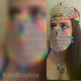 Rainbow Kandi Crown