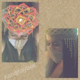 Mandala Kandi Crown And Kandi Mask
