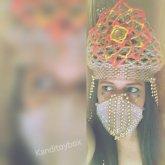 Mandala Kandi Crown And Kandi Mask 2