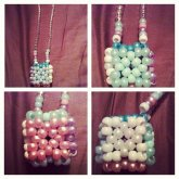 Princess Pastel 3d Cube Necklace
