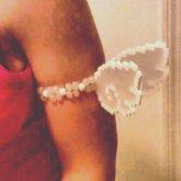 Perler Angel Wing Cuff