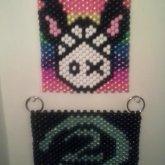 Bunny Toxick And Halo <3