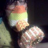 candy corn gas mask 2