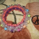 3-D And Peace Sign