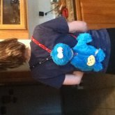 Cookie Monster Bookbag