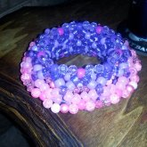 Pink & Purple Cuff