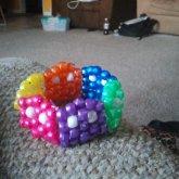Rainbow Pacman Bracelet