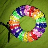 Big 3D Rainbow Cuff