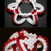 3D Toxic White And Red