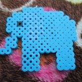 Elephant Perler