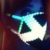 Glow Kandi Mask