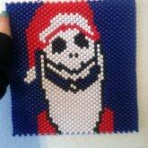 MY Jackskellington Santa Clause Poster