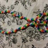 PLUR Rainbow Necklace