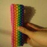 Bright Rainbow Armband