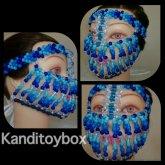 Blue Kandi Mask