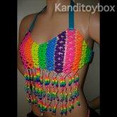 Rainbow Kandi Top