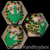 420 Full Faced Kandi Mask