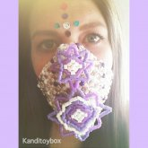 Purple Mandala Kandimask