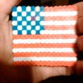 Perlrbead American Flag