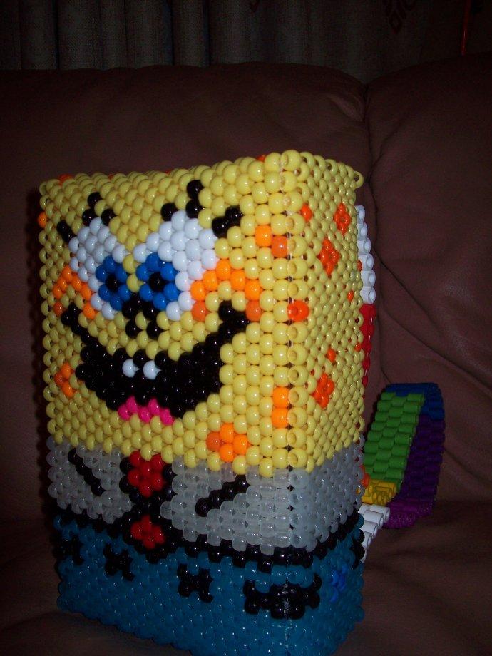 AWESOME Spongebob backpack <3 by SkittleMonster - Kandi Photos on ...