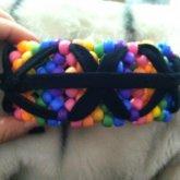 Rainbow W. Black Stars