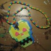Neon Skull Kandi