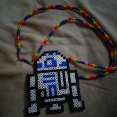 R2D2 Necklace.