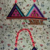 Pink Triangles Evil/Good. NEWEST KANDI BIKINI