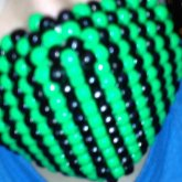 Out Of Focus... Buuut Kandi Mask I Made :3