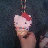 Hello Kitty Rainbow PLUR Neckless