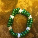 Green And White Double