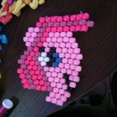 Peyote Stitch Pinkie Pie