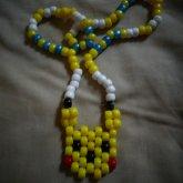 Pikachu Peyote Necklace.