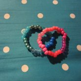 Blue And Pink Singles.