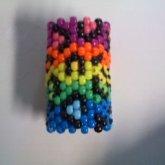 Rainbow Leopard Print Cuff