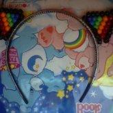 Rainbow Kandi Kitty Ears