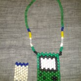 Front Of 3D Gameboy Necklace