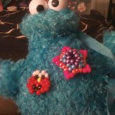 My Cookie Monster Back Pack (front)