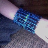 My Big Multistitch Cuff! :3