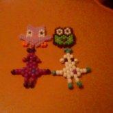 Peyote Robots, Frog, And An Owl